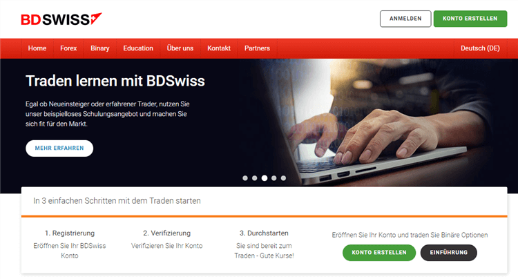 """BDSwiss bietet einen umfangreichen """"Education""""-Bereich"""