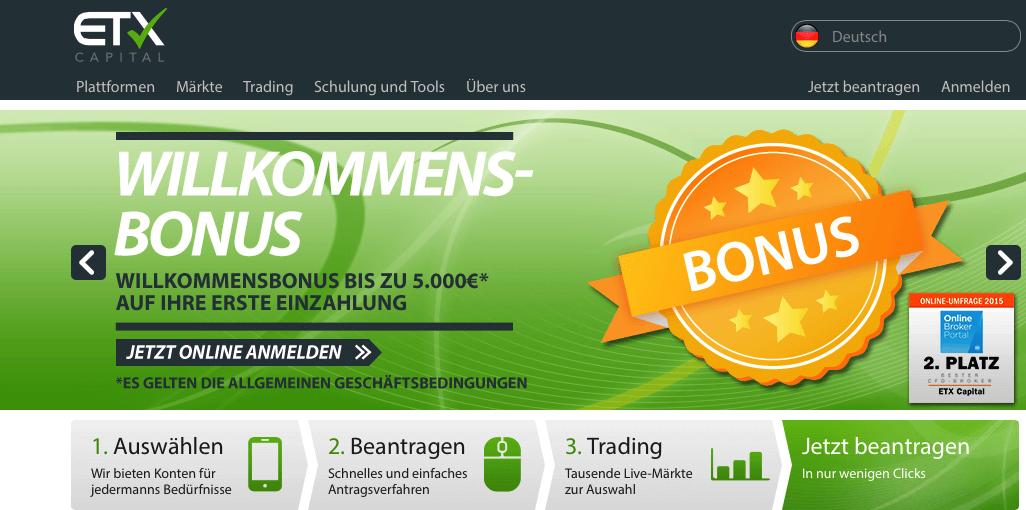 ETC Capital lockt mit bis zu 5.000€ Willkommensbonus