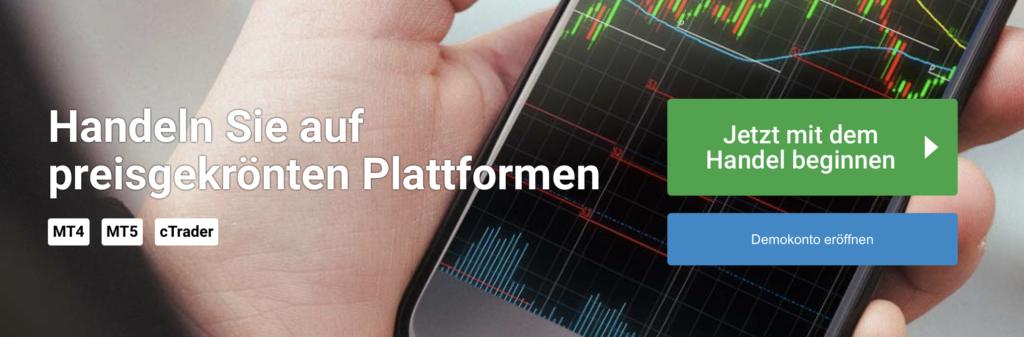 Auch auf mobilen Endgeräten können Kunden des Brokers FxPro traden