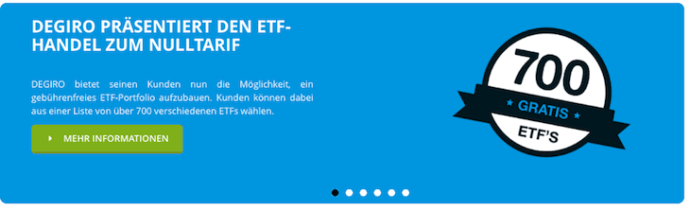 DEGIRO überzeugt mit einem attraktiven ETF-Angebot.