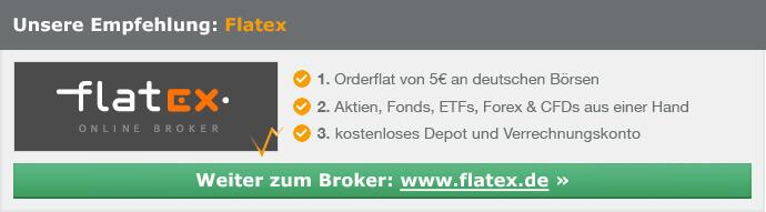 zum Anbieter Flatex