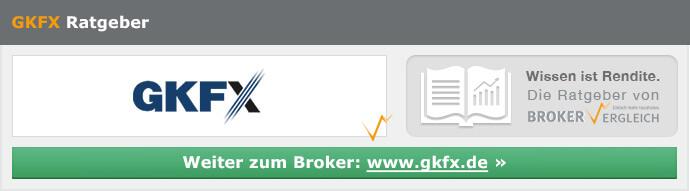 Forex Broker Deutschland - Handeln bei GKFX