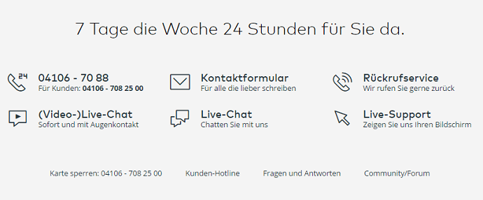 Kundenservice bei comdirect