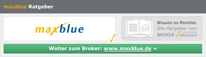 maxblue Depot und Konditionen