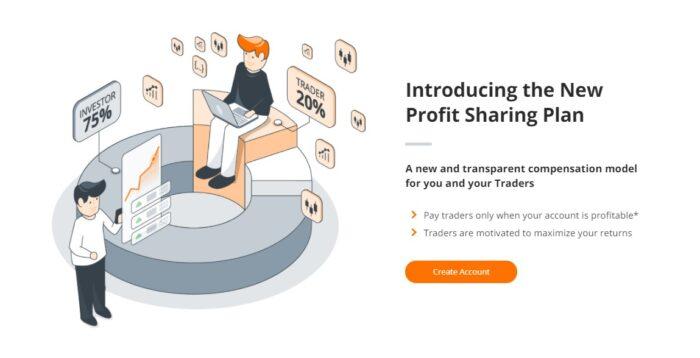 ZuluTrade bietet Konten mit Gewinnbeteiligung an