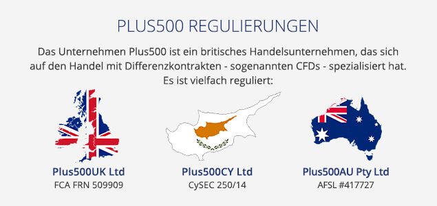 Plus500 Regulierungen Plus500 Bonus