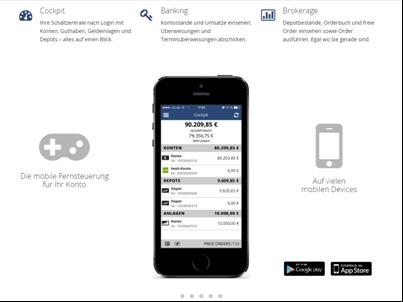 Großes Angebot an benk Handels-Apps