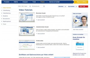 Die Video-Tutorials von maxblue