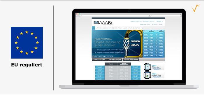AAAFx Erfahrungen - Der Brokevergleich.net Test
