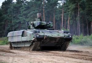 Bildquelle: Panzer Puma, Quellenangabe: Rheinmetall-Pressebild