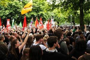 Blockupy rief zu Protesten auf