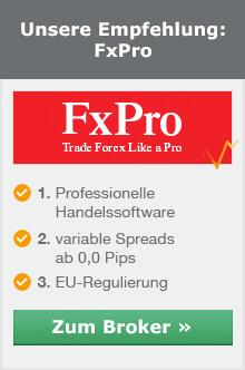 Bester Devisen Broker aus unserem Vergleich ist FxPro