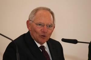 """Schäuble: """"Griechenland bleibt Teil Europas"""". Bildquelle: flickr.com / blu-news.org"""