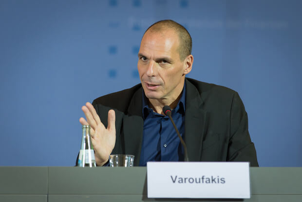 Isolation von Varoufakis