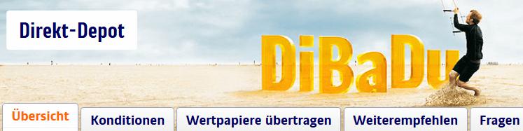 gutes Angebot: die ING DiBa