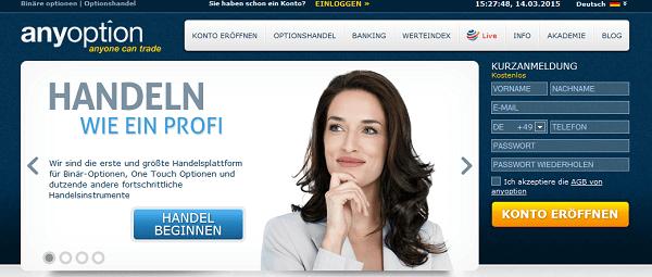 Anleitung anyoption Strategie
