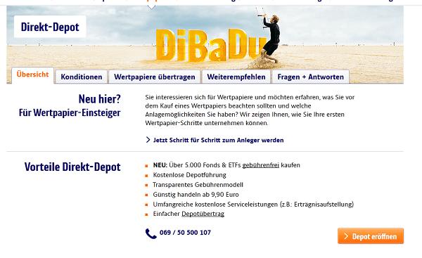 Die ING-DiBa bietet ihren Einsteigern die geballte Kompetenz in Sachen Kundenservice an