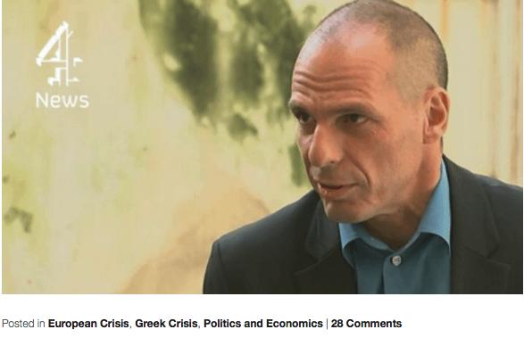 Varoufakis bestätigt Mitschnitt von Gesprächen