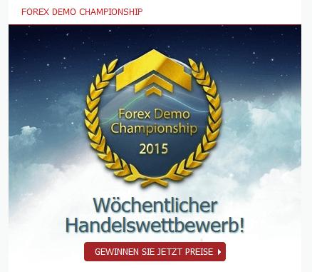 Angebot für den Wettbewerb Forex Demo Championship bei Mayzus