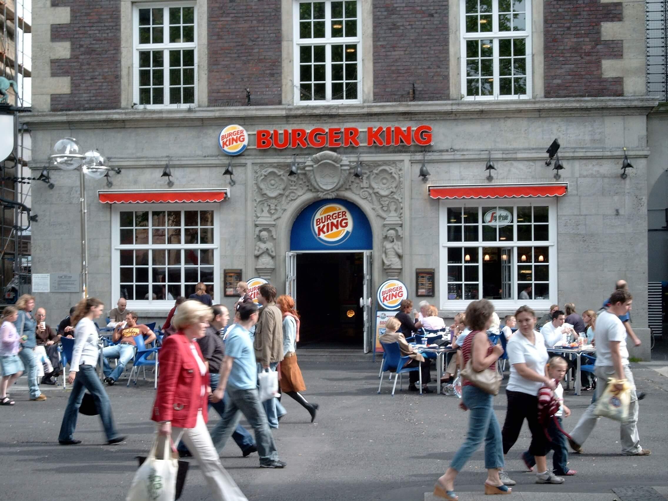 Burger King jetzt mit Lieferservice