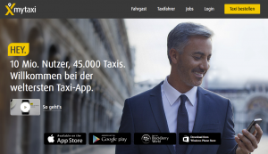 MyTaxi wirbt mit erheblichen Preisnachlässen