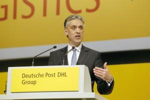 ###cat:4620### Frankfurt-270515 Hauptversammlung Deutsche Post DHL, Frankfurt am Main, Jahrhunderthalle, Deutsche Post DHL/Bernd Georg