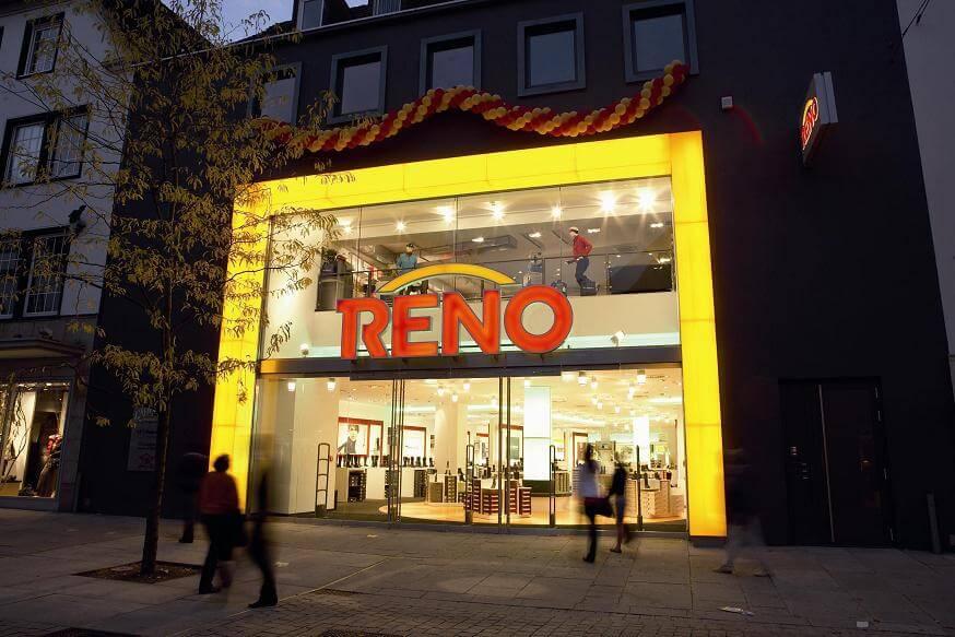 Schuhhändler Reno sucht Investor