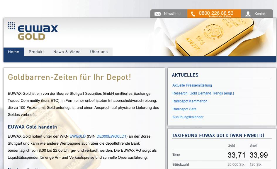 Info Euwax