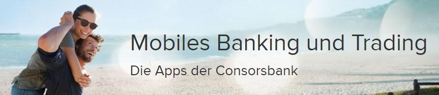 Consorsbank Aktien App