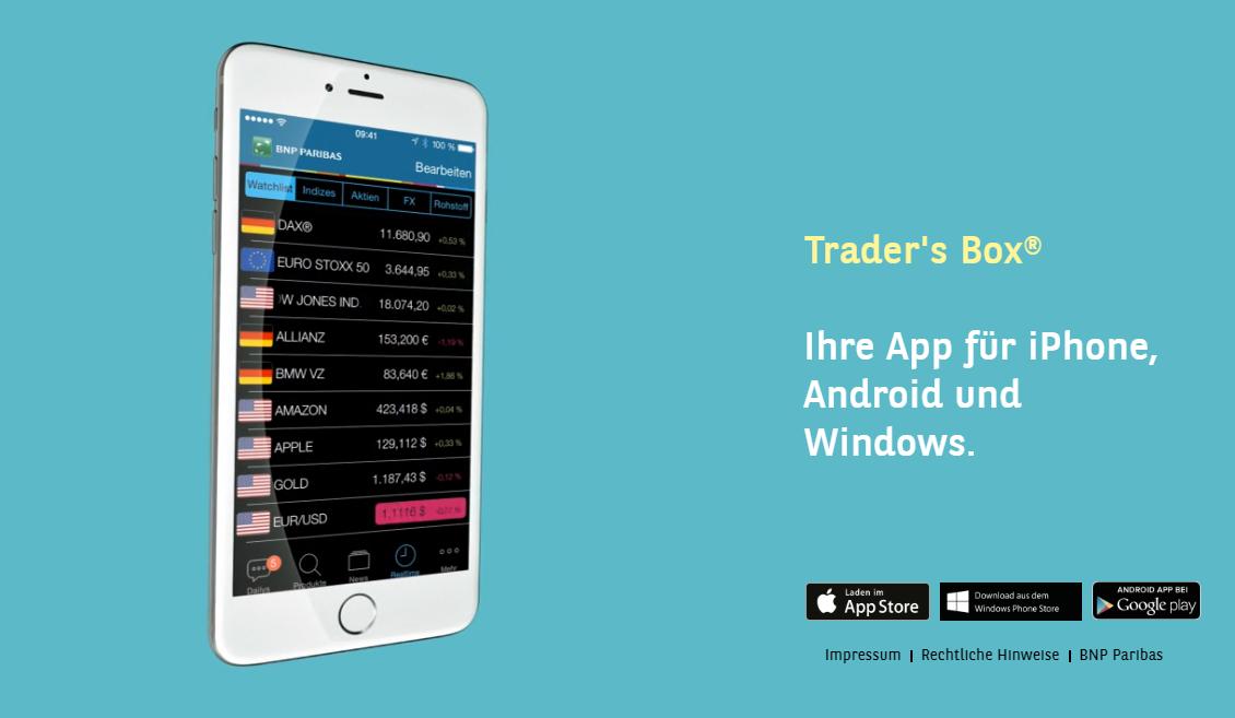 Trader´s Box ist der Sieger des Aktien App Vergleichs