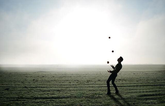 Mit Kapital jonglieren