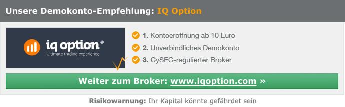 IQ Option Empfehlung