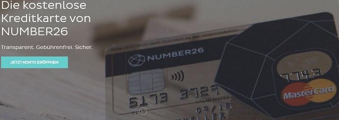 NUMBER26 Kreditkarte im Ausland nutzen: Keine Zusatzkosten!
