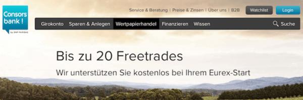 consorsbank freunde werben