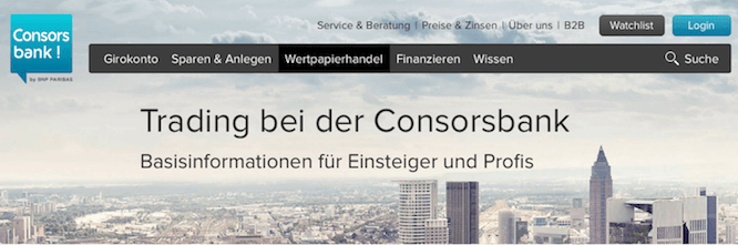 Consorsbank Kreditkarte Limit