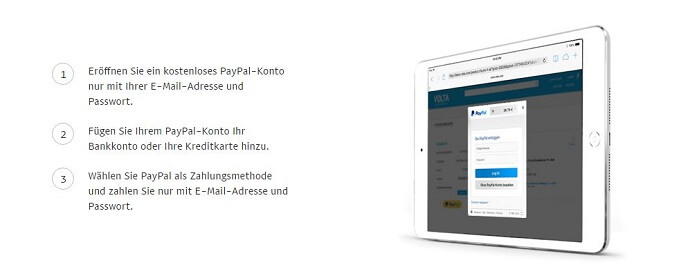 PayPal nutzen für Online Einkäufe