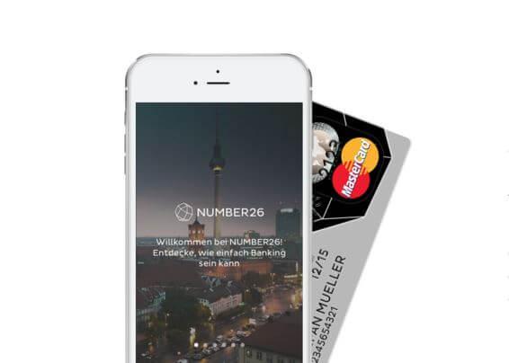 NUMBER26 Kreditkarte beantragen