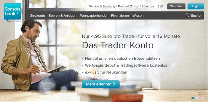 Consorsbank Wertpapierhandel