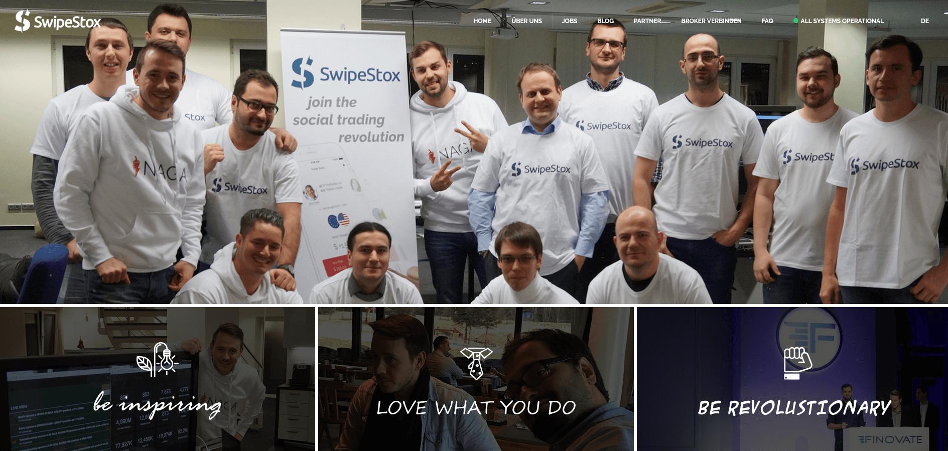 Jobs bei SwipeStox
