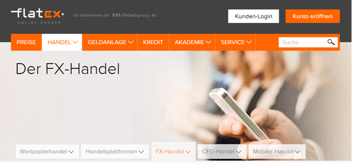 Flatex Forex-Handel