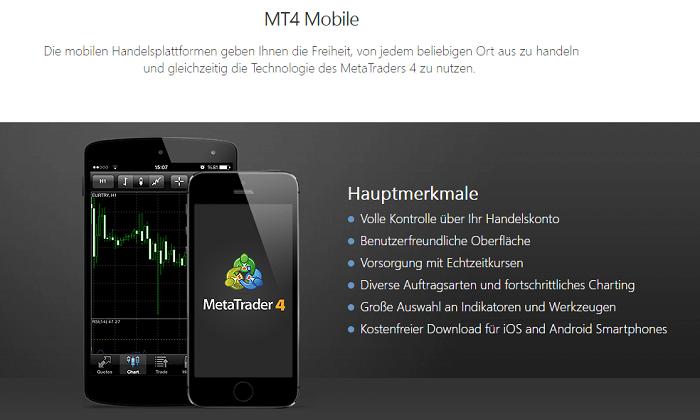 MT4 mobil GKFX