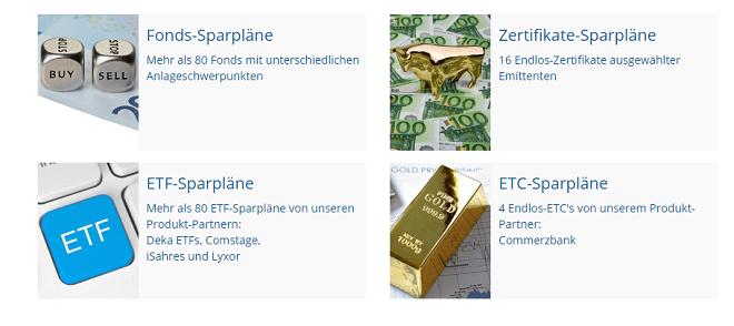 Finanzen.net Sparplan
