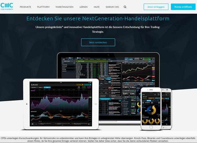 CMC Markets Demokonto Erfahrungen: Trading mit Echtzeitkursen testen