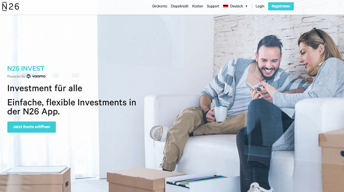 N26 Geld investieren