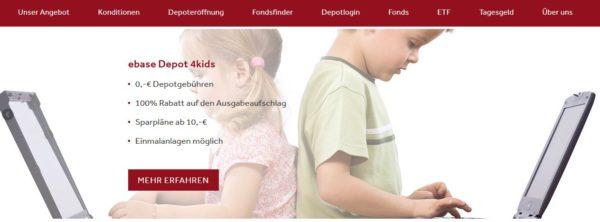 FondsSuperMarkt Webauftritt