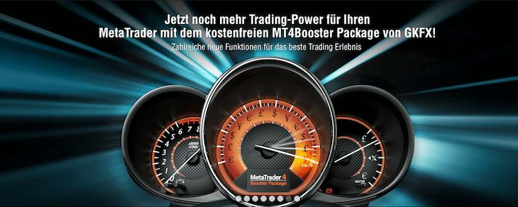 Mit dem MetaTrader4 erhalten GKFX Anleger und Trader noch mehr Power dank der leistungsstarken Handelsplattform