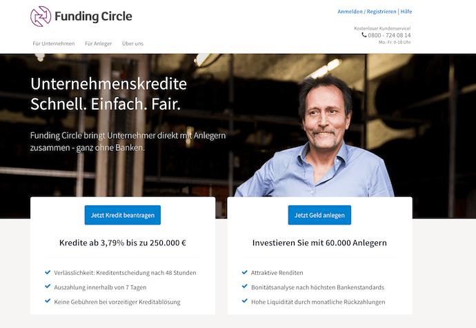 Funding Circle Erfahrungen von Brokervergleich.net