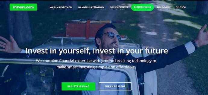 invest.com Erfahrungen von Brokervergleich.net