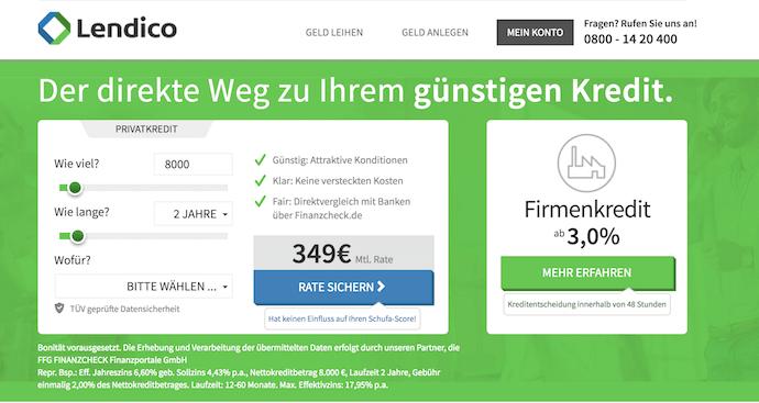 Lendico Erfahrungen von Brokervergleich.net