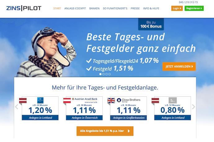 ZINSPILOT Erfahrungen von Brokervergleich.net